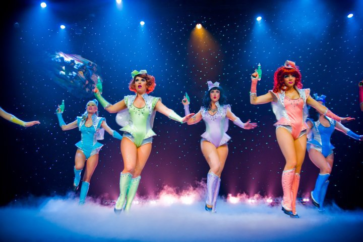 The Atomic Bombshells in Lost In Space. ©Michael Doucette