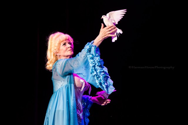 Dusty Summers at the Burlesque Hall of Fame Weekend 2015: 58th Annual Titans of Tease Reunion Showcase.  ©Chris Harman/Harman House Photography for 21st Century Burlesque Magazine. Not to be used without permission.