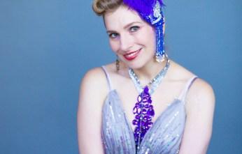 Burlesque dancer Grace Gotham, star of the new Dove campaign. (WTL Photos)