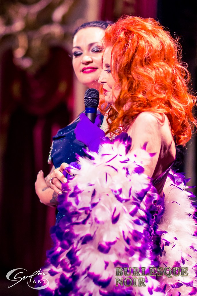Raven Noir and Tempest Storm, by Vraig Serapic