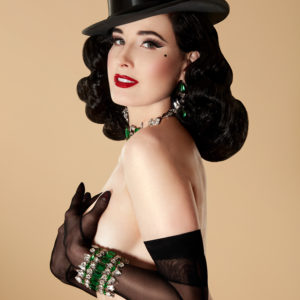 Dita Von Teese, by Albert Sanchez