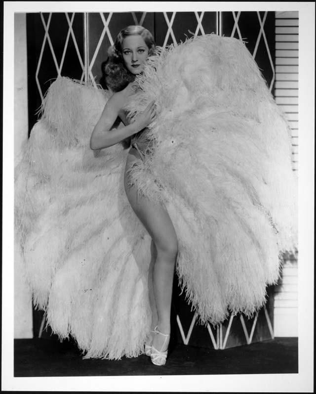 Burlesque fan dancing pioneer Sally Rand