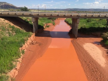 Red clay river.