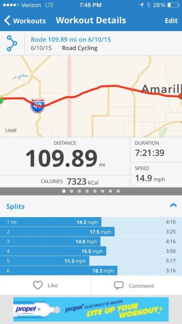All in all, one of the best overall days of the ride.