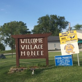 After 151 miles, this was a very welcome sign.
