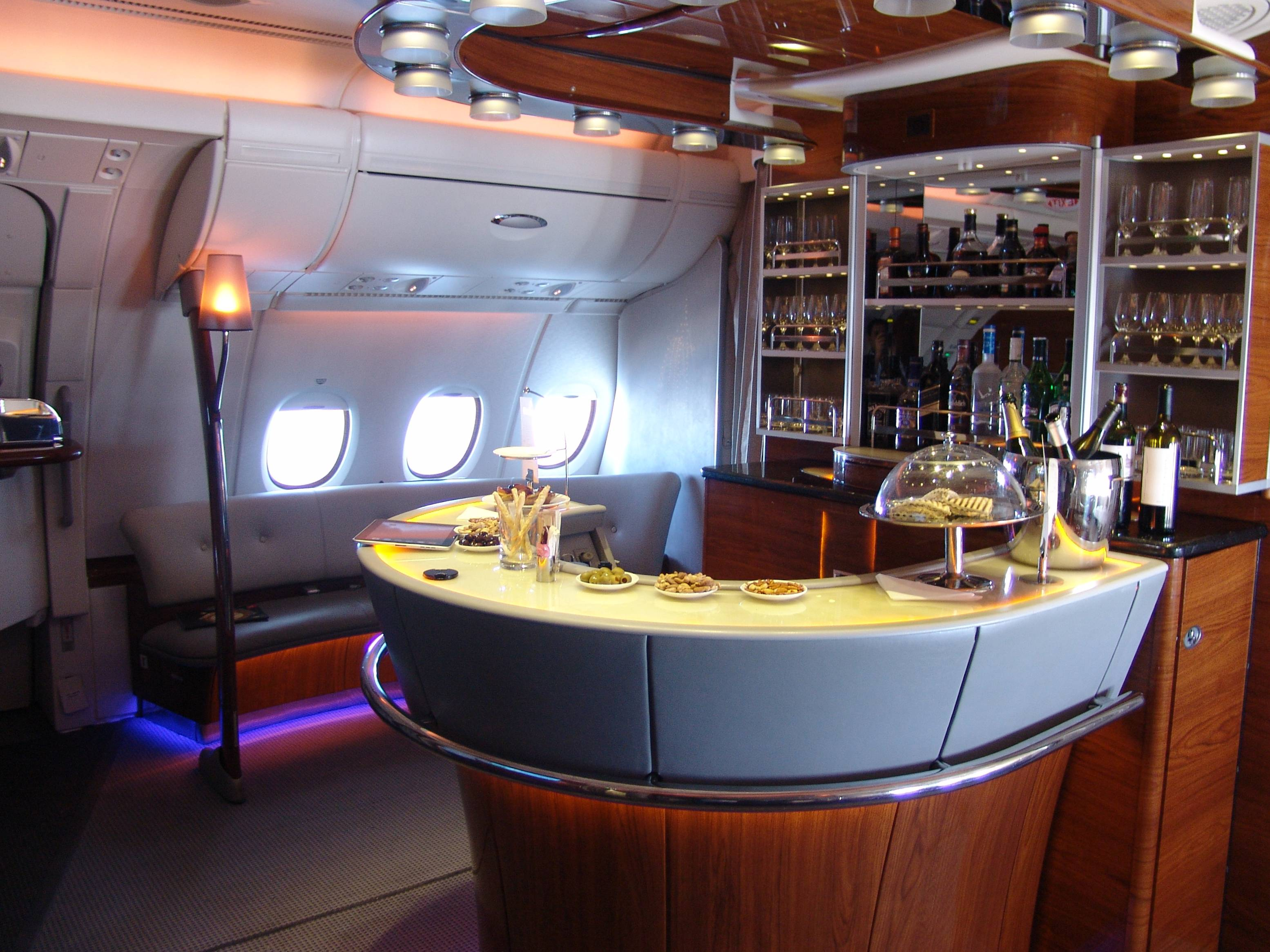 A380 Emirates Business Class 21st Century Journeys