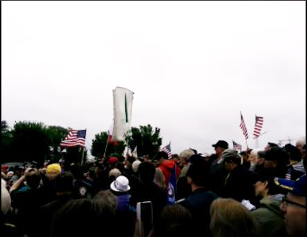 #T2SDA_#T4VETS_WWII_Memorial_Vets_Truckers_Protest