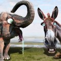 CIRCUS CIRCUS: US Senate Flips to Elephants, Jackasses Yield in Midterms