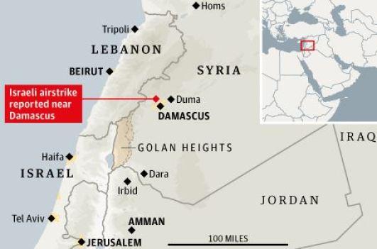 1-IDF-Strikes-Damascus