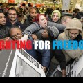 Black Friday: Watch Poor Americans Fighting Each Other For Cheap Chinese Goods