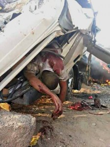Taiz bombing driver