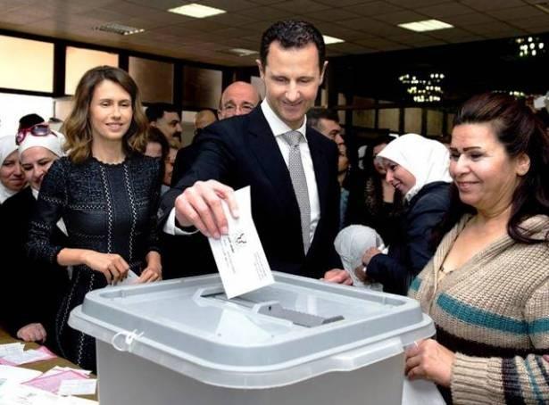 assad votin