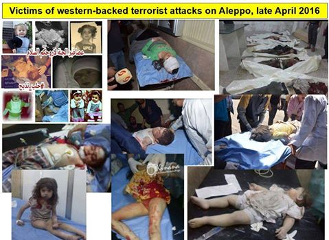 Aleppo terror attacks
