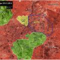 ALEPPO UPDATES: Battlefield Map of East Aleppo