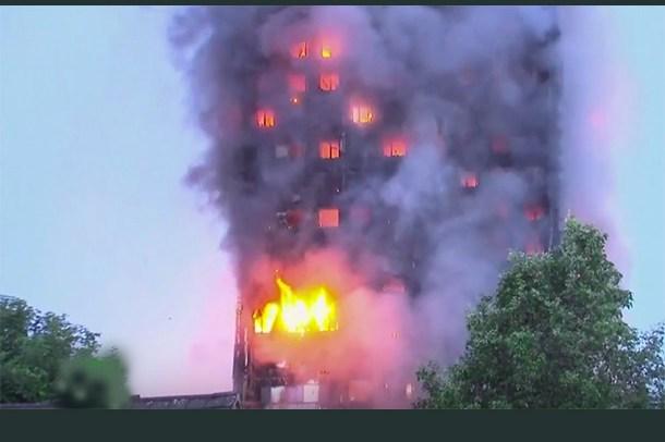 1 Grenfell Tower FIRE