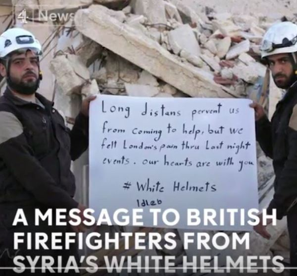 WHITE HELMETS: Severed Heads of Syrian Arab Army Soldiers Paraded as Trophies – Endorsed by Channel 4