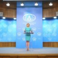 SYRIA: Maria Zakharova Press Briefing on West's Chemical Weapon Propaganda Campaign