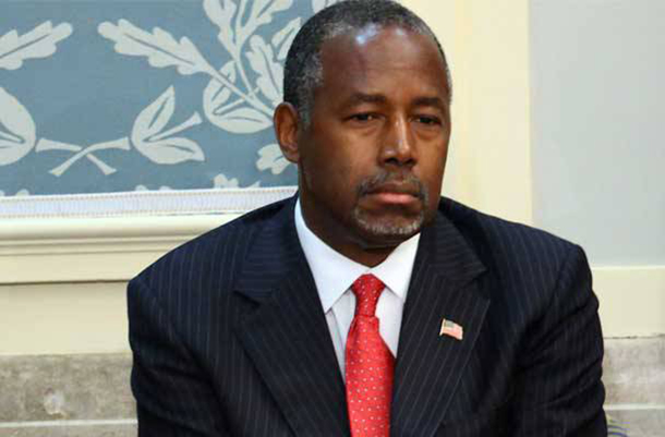 Ben Carson Home Vandalized with Anti-Trump Graffiti, CNN Accuses Him of Lying
