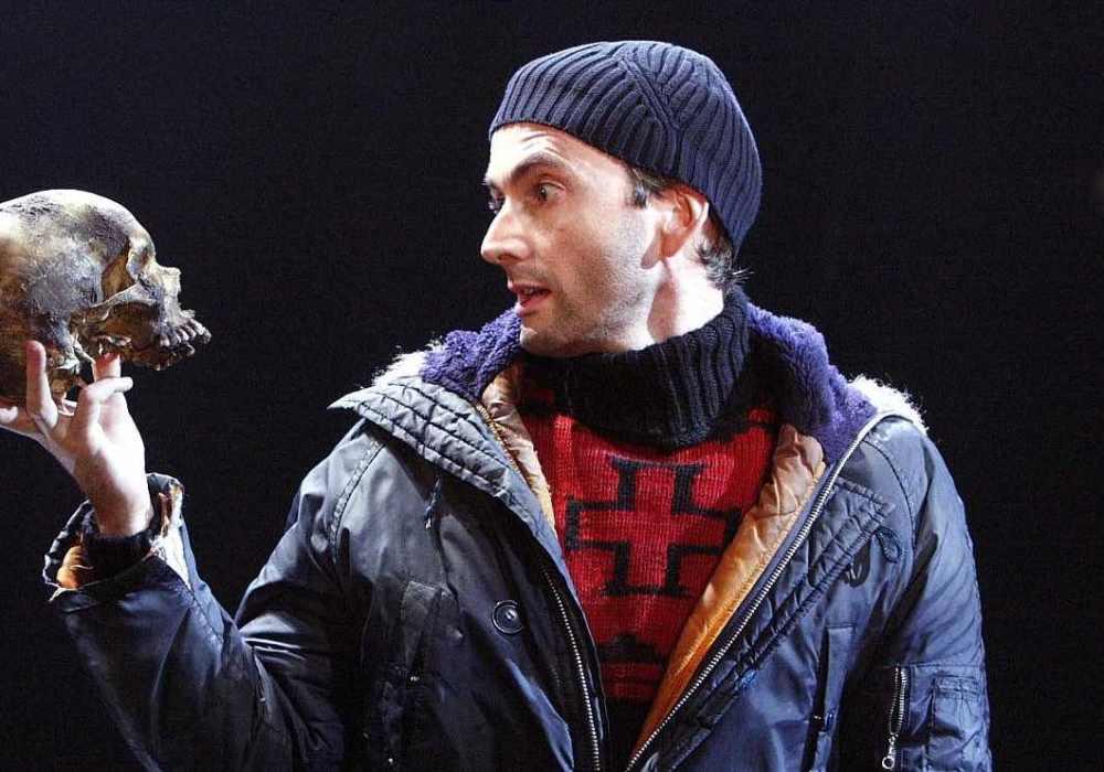 David Tennant plays Hamlet