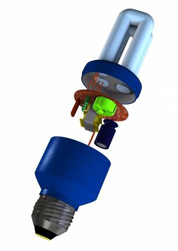 Často bývají nesprávně označovány jako úsporné žárovky. Patří do skupiny nízkotlakých rtuťových výbojových světelných zdrojů. Představují rovnocennou náhradu běžných žárovek s tím, že jsou v porovnání s nimi schopny uspořit 70-80 % elektrické energie a mají i několikanásobně delší životnost.
