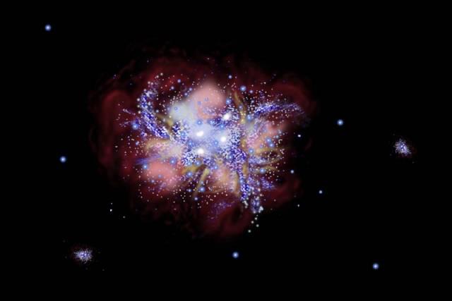 Mezinárodní skupině astronomů se podařil unikátní objev. Prostřednictvím optiky Hubbleova vesmírného teleskopu a obřího dalekohledu na Mauna Kea na Havaji vyfotografovali koncem února nejvzdálenější galaxii Vesmíru.