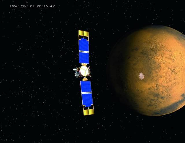 Družice Mars Global Surveyor odhalila, že zelený minerál olivín pokrývá zhruba 30 000 čtverečních kilometrů marsovského povrchu, a to v dlouhé, mělké a úzké proláklině zvané Nili Fossae.