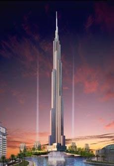 Firma SAMSUNG vyhrála konkurz na stavbu nového mrakodrapu ve Spojených arabských emirátech.