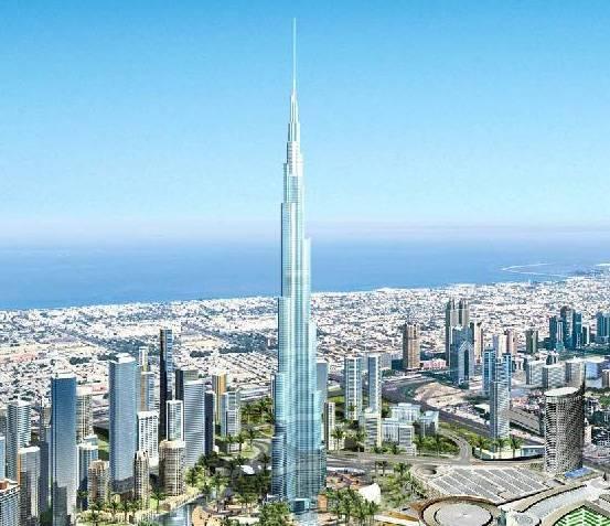 Stavba obřího mrakodrapu Burj Dubaj, který by se měl v budoucnosti stát nejvyšší budovou světa, právě začala! Nikdo ale přesně netuší, jak bude nakonec vysoký.