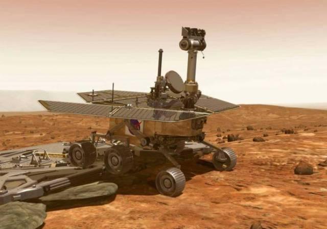 Americký pojízdný robot Opportunity na Marsu v těchto dnech překonal překážku v podobě písečné duny, která ho více než měsíc brzdila v jeho práci.