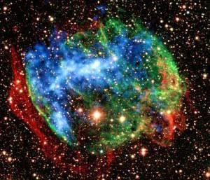 Americká družice Swift zaznamenala na počátku tohoto měsíce unikátní výbuch gama paprsků v rekordní vzdálenosti od naší planety.