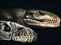 Argentinští vědci oznámili, že objevili dosud neznámý druh pravěkého krokodýla, který měl hlavu dinosaura a ocas ryby. Druh dostal přezdívku Godzilla a žil přibližně před stovkou miliónů let.
