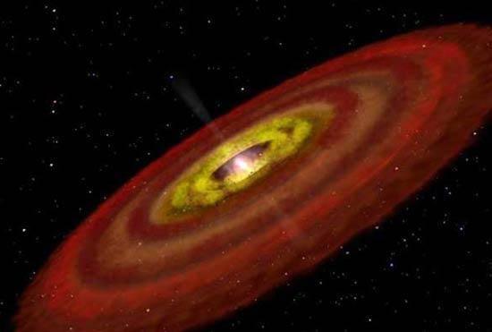Spitzerův infračervený kosmický teleskop NASA poprvé odhalil přítomnost ingrediencí nutných ke vzniku aminokyselin - základních složek bílkovin - i mimo Sluneční soustavu.