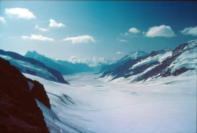Počítačový model odhalil, že alpské ledovce do roku 2100 pravděpodobně z 80 % zmizí.