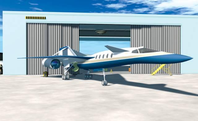 Američané vyvíjejí nový dopravní supersonik.