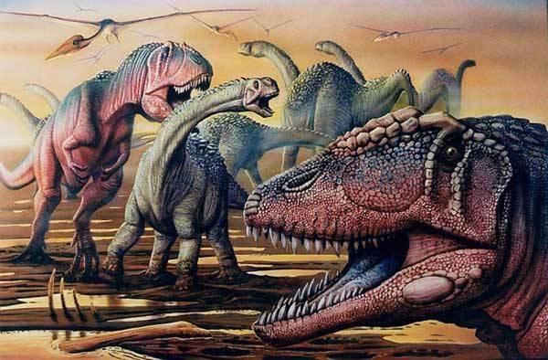Kosterní nález smečky obrovských dravých dinosaurů dosud neznámého druhu z roku 1995 byl popsán a zařazen teprve v letošním roce. Proč jich bylo tolik na jednom místě? Zahynuli snad při nějaké přírodní katastrofě?