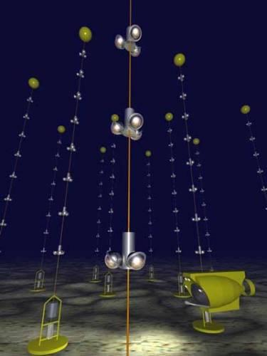 Dva a půl kilometru pod hladinou Středozemního moře nedaleko francouzského Toulonu byl zahájen provoz teleskopu, kterým budou astronomové schopni nahlédnout ještě hlouběji do vesmíru.