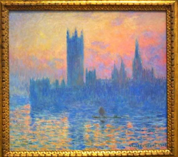 Co má společného Monetův impresionismus a znečištění ovzduší? Na první pohled možná nic, ale… Vědci z birminghanské univerzity jsou přesvědčeni, že Monetův cyklus obrazů londýnskho Westminsteru zachycuje silné znečištění ovzduší britské metropole.