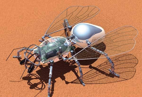 Miniaturní vrtulníky už jsou zastaralé, o jejich místo teď usilují mikroroboty, které se učí létat od hmyzu. Nebude to trvat dlouho a mechaničtí čmeláci se stanou nepostradatelnou pomůckou tajných služeb, armády i požárníků.