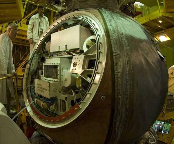 Na palubě nového vesmírného modulu Foton-M3, který vynesla nedávno na oběžnou dráhu Země raketa Sojuz, bylo i hejno malých rybek. Během dvanáctidenní mise studovali vědci vývoj jejich ústrojí rovnováhy v uchu.