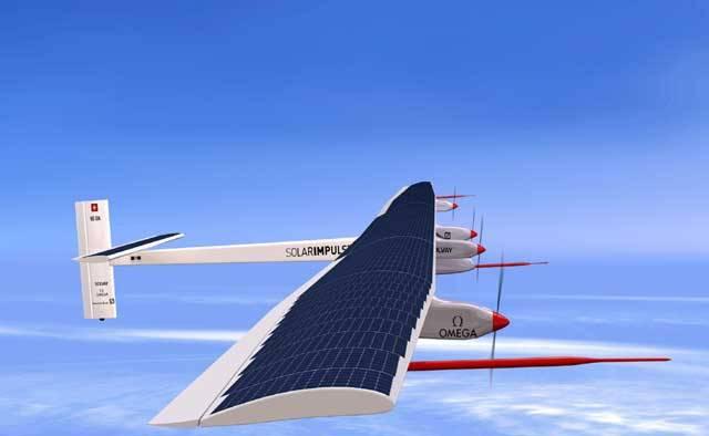 Píše se rok 2011. Na svou pouť se vydává letadlo, které má jediný úkol: obletět celou modrou planetu. Na tom by snad nebylo nic zvláštního, až na jednu maličkost. Letoun bude veškerou svou energii k letu čerpat ze Slunce.