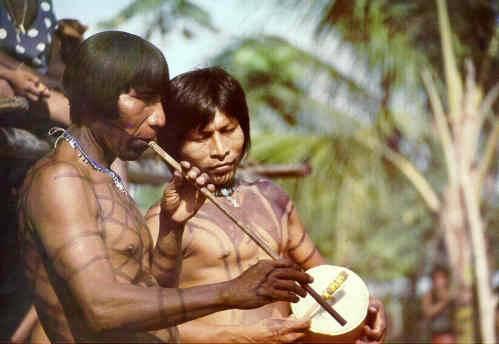 Když v rove 1492 doplul Kryštof Kolumbus k americkým břehům, byly oba americké subkontinenty již dávno obydleny lidmi. Kulturní rozdíly mezi americkými domorodci byly však obrovské – na jedné straně zde žili primitivní Šošoni, na druhé známe ale i rozvinuté civilizace Mayů, Aztéků a Inků. Poslední výzkumy biologů ale ukazují, že počet původních skupin, v nichž první lidé do Ameriky přišli, byl ve skutečnosti velmi malý.
