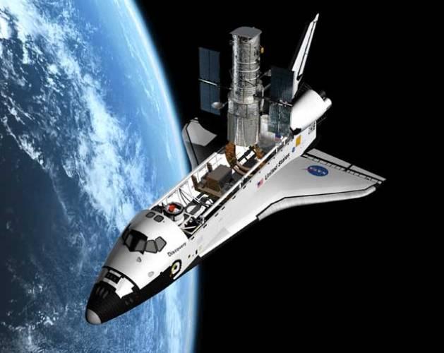 Už osmnáct let krouží asi 600 kilometrů nad Zemí, a přesto stále proniká do větších a větších hlubin mezihvězdného prostoru. Vlastně cestujeme jeho prostřednictvím proti času, protože nám dovoluje nahlédnout málem až k počátkům vzniku vesmíru. A pak to přijde – blik a tma, to fantastické okno do vesmíru jménem Hubble Space Telescope přestává fungovat.