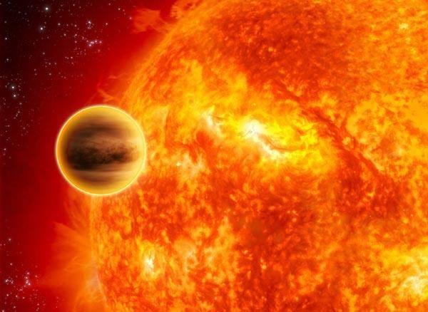 Nejžhavější planeta naší galaxie má podle britských vědců svůj osud zpečetěn. Gravitační síly její mateřské hvězdy ji ždímají jako citrón a do 10 miliónů let by ji měla hvězda  nejen úplně vyždímat, ale dokonce zcela pozřít. Zprávy o novém pozorování přinesli nedávno britští astronomové.