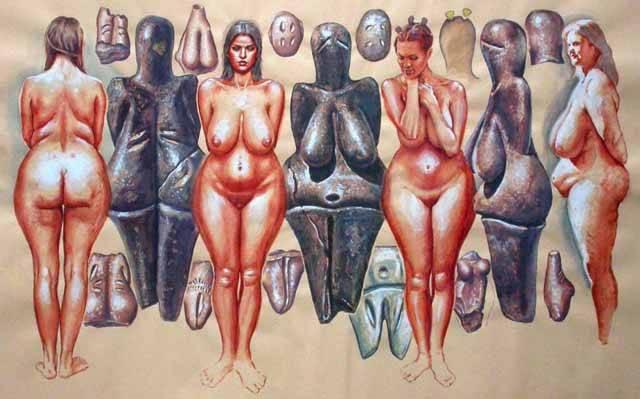 Po dlouhé generace se v dějepise jednoznačně učí o prvobytně pospolné společnosti. V ní se mnoho pozornosti věnuje období matriarchátu, kde hlavní slovo měla matka. Její význam měly dokladovat i sošky tzv. venuší s výraznými sekundárními pohlavními znaky. Nejnověji se archeologové domnívají, že figurky sloužily i šamanům.