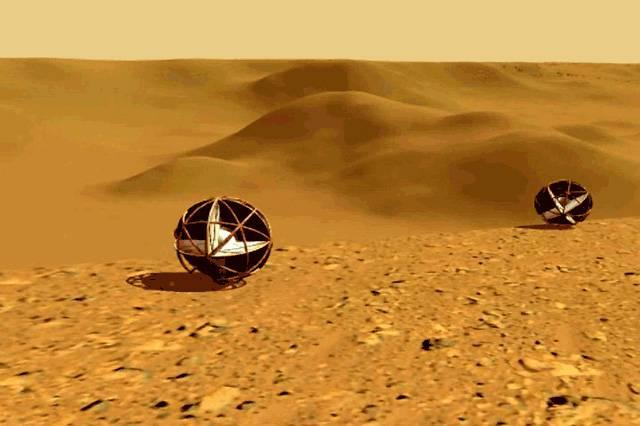 Vědci na univerzitě v Severní Karolíně se zabývají jednou z možných technologií samohybů pro výzkum povrchu Marsu. Chtějí maximálně využít přirozený pohon – vítr. Recentní poznatky o podmínkách na planetě blízké Zemi je inspirovaly k novému řešení na základě tvarů a vlastností existujících v pozemské přírodě.
