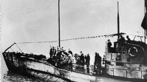 Výzkumníci nalezli ponorku z první světové války