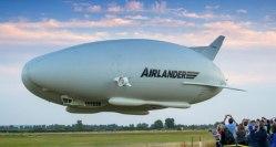 Airlander 10 bude sloužit vyhlídkovým letům