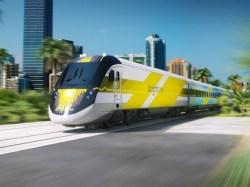Soukromé vysokorychlostní vlaky na Floridě