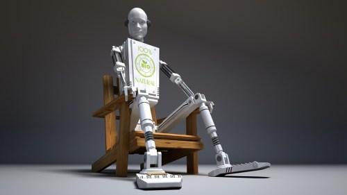 Singapurský robot dokázal složit židli Stefan z IKEA