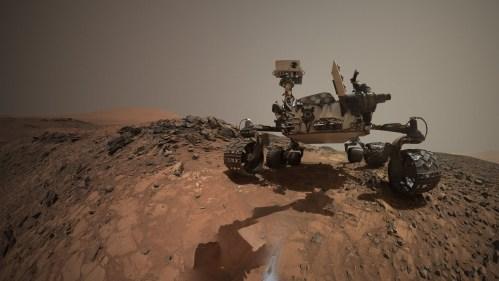 Obsah metanu na Marsu se mění podle ročních období